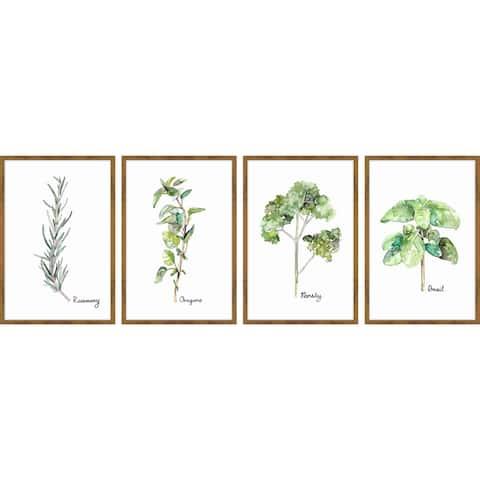 Herb Squad Quadriptych - Multi-color