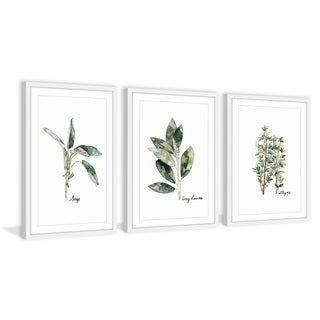 Herb Trio Triptych (More options available)