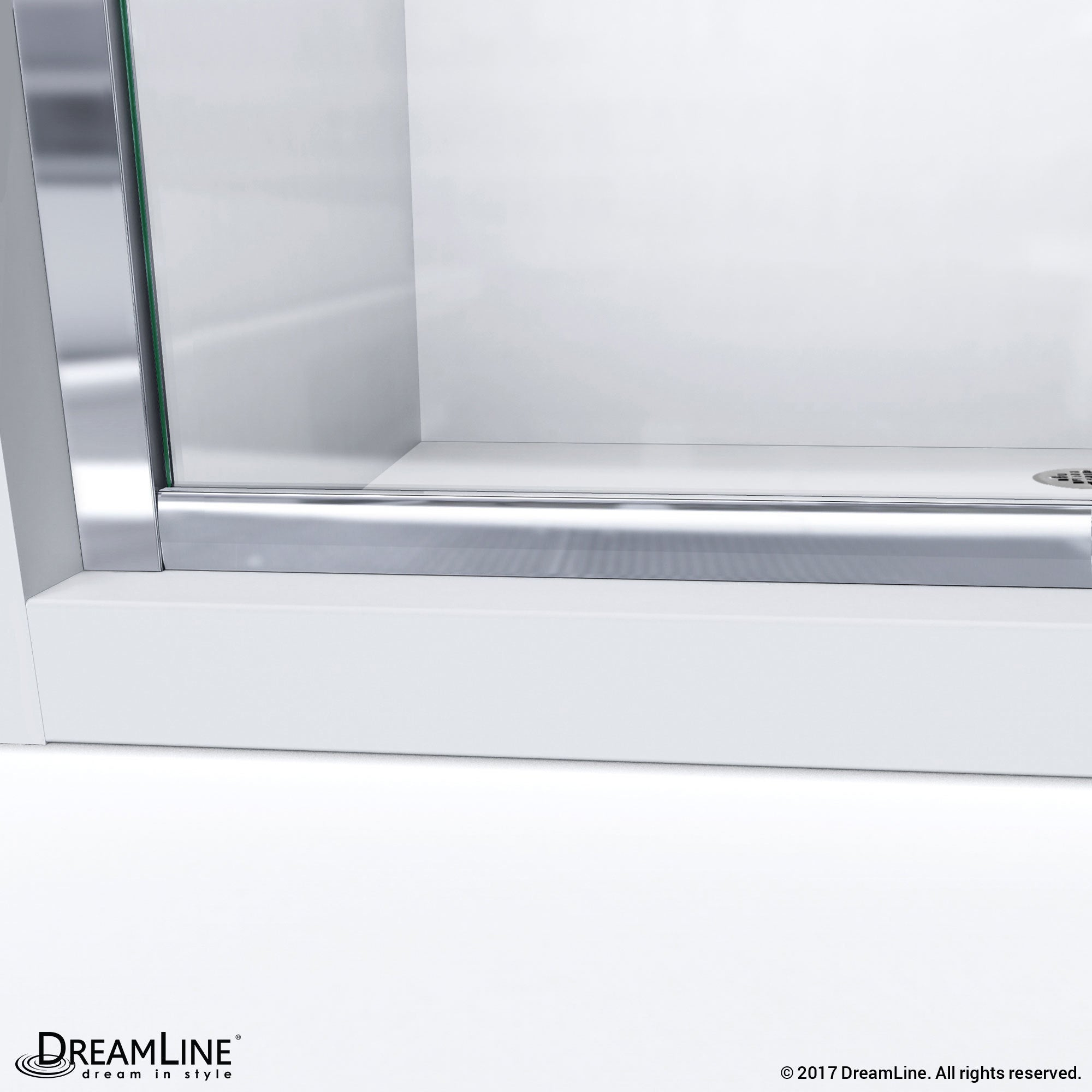 W X 72 In H Semi Frameless Sliding Shower Door Dreamline