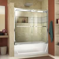 DreamLine Essence-H 56-60 in. W x 60 in. H Semi-Frameless Bypass Tub Door