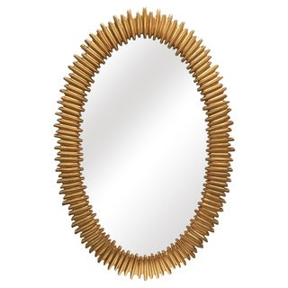 Lea Oval Wall Mirror - 26 inches x 40 inches x 1.2 inches