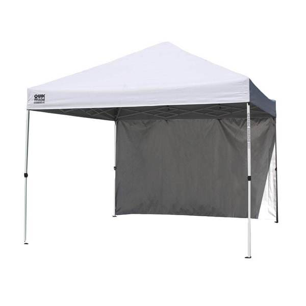 Shop Quik Shade Commercial Instant Canopy With Wall Panel Free