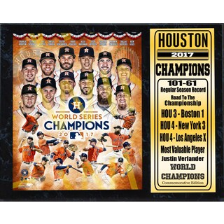 12x15 Stat Plaque - 2017 World Series Champion Houston Astros