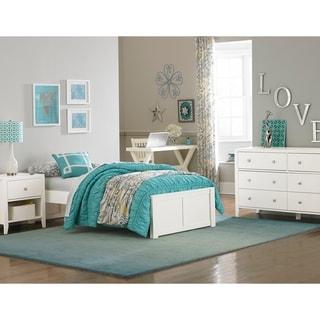 Hillsdale Pulse Full Platform Bed, White