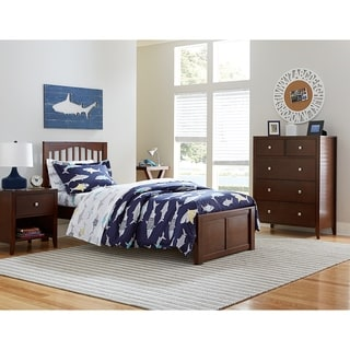 Hillsdale Pulse Twin Mission Bed, Chocolate