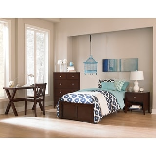 Hillsdale Pulse Twin Platform Bed, Chocolate