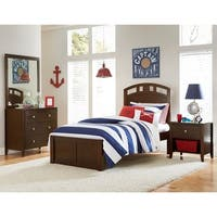 Hillsdale Pulse Full Arch Bed, Chocolate