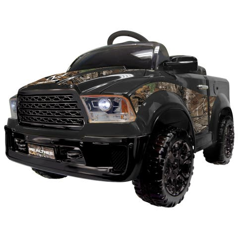 Realtree Truck 12V- Black - N/A