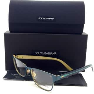 Dolce Gabbana Blue Eyeglasses DG 1273 1271 53 mm Green|https://ak1.ostkcdn.com/images/products/18693437/P24784448.jpg?impolicy=medium