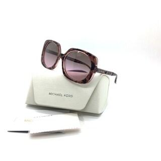 Michael Kors Pink Sunglasses MK 2050 Ula 325114 55 Brown Rose Gradient