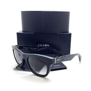 Prada Gray Sunglasses SPR 04Q 1BO 0A7 52mm Black Camouflage