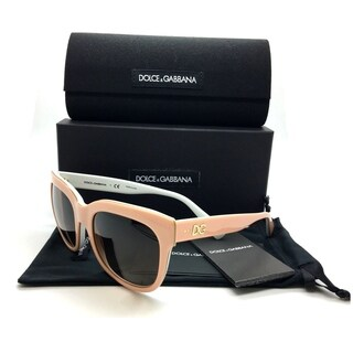 Dolce & Gabbana Pink Sunglasses DG 4272 3007 13 2N 53mm Top Powder Gradient Brn