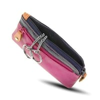 Visconti RB69 Multi Color Soft Leather Coin Purse Key Wallet With Key Chain
