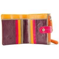 Visconti Mojito M77 Multi Colored Soft Leather Compact Wallet / Purse