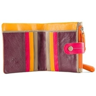 Visconti Mojito M77 Multi Colored Soft Leather Compact Wallet / Purse