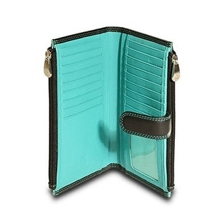 Visconti CD23 Jade Womens Soft Leather Bifold Wallet ,Purse, Clutch