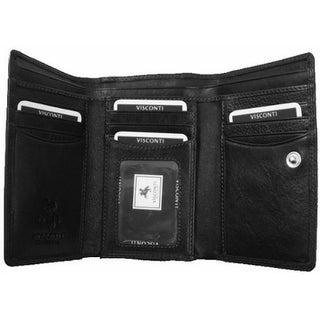 Visconti Heritage -32 Soft Leather Womens Trifold Wallet / Purse