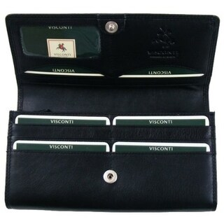 Visconti Heritage -35 Soft Leather Large Ladies Purse Wallet (4 options available)