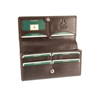 Visconti Heritage -35 Soft Leather Large Ladies Purse Wallet
