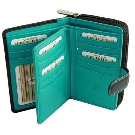 Visconti Cd 22 Ladies Leather Wallet
