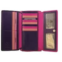 Visconti RB78 XL Soft Leather Multi Colored Wallet/Purse