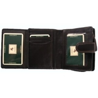 Visconti Heritage -31 Small Trifold Soft Light Leather Wallet & Purse