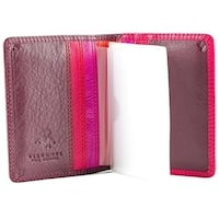 Visconti RB44 Cancum Multi-Color Soft Leather Wallet