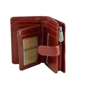 Visconti Monza -11 Ladies Large Soft Leather Purse/Wallet