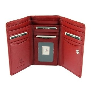 Visconti Heritage -32 Soft Leather Trifold Wallet