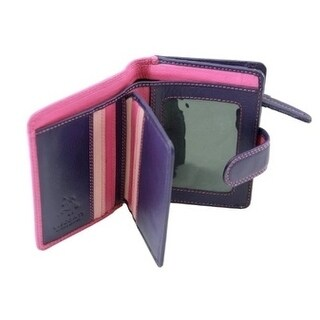 Visconti RB40 Multi Colored Small Soft Leather Ladies Wallet
