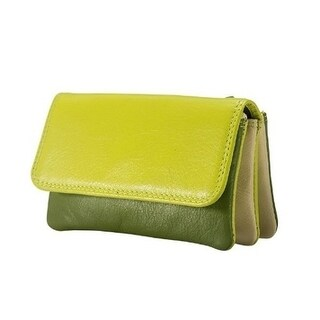 Visconti RB 99 Multi Colored Womens Soft Luxury Leather Coin Purse Wallet (4 options available)