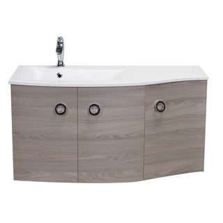 "Eviva Romania 42"" Grey Oak Bathroom Vanity"