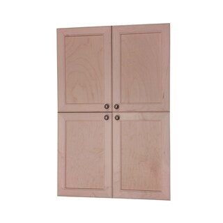 Village BCK On the Wall Four Door Frameless Pantry Cabinet