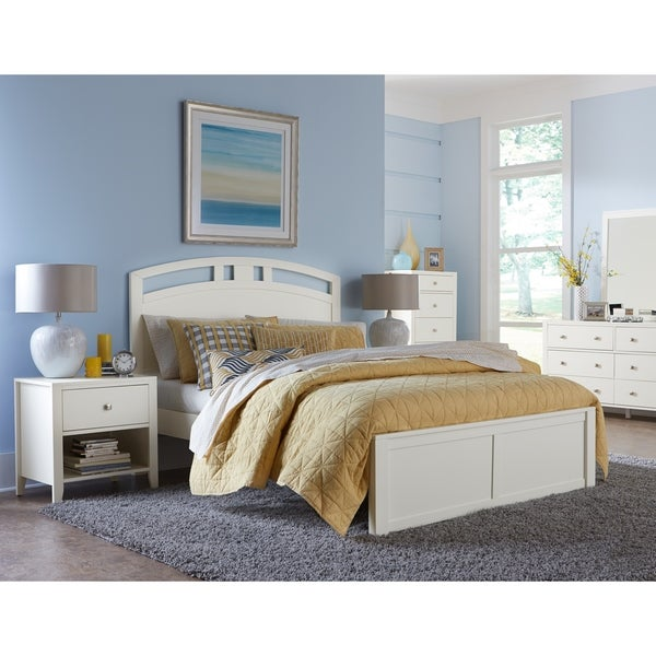 Shop Hillsdale Pulse Queen Arch Bed White Free Shipping