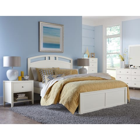 Hillsdale Pulse King Arch Bed, White