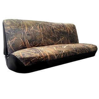 Muddy Water Camo Bench SeatCover Mid-Full Size Duck Hunting Camouflage