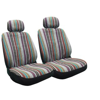 Baja Inca Seat Covers Pair Front Row Saddle Blanket For Toyota Celica