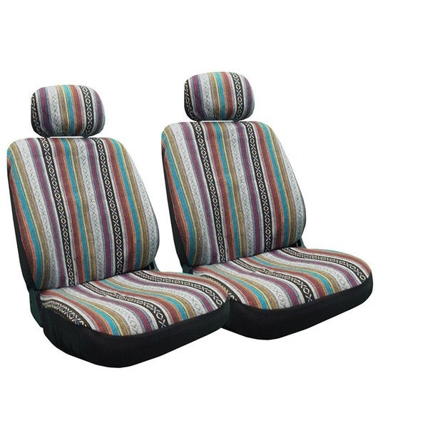 Awe Inspiring Baja Inca Seat Covers Pair Front Row Saddle Blanket For Kia Optima Caraccident5 Cool Chair Designs And Ideas Caraccident5Info