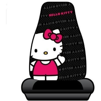 Unique Industries Hello Kitty Waving Car Seat Cover (Color)
