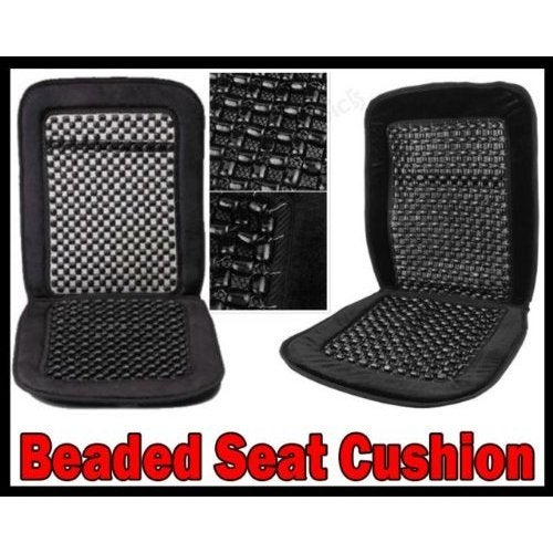 Unique Industries 2x Pair Wood Bead Seat Cover Massage Co...