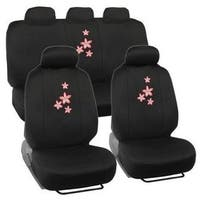 Seat Cover 11pc Floral