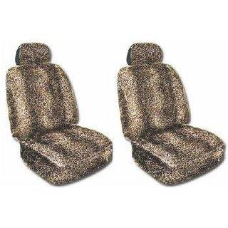 Leopard Animal Print Seat Cover 2 pcs