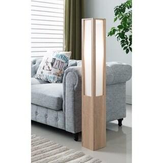 Illuminating Well- Designed Floor Lamp, Light Brown