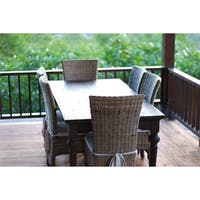 Maison Rouge Angelou Brown Teak Wood 240 Dining Table