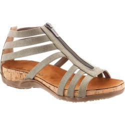 Women's Bearpaw Layla Caged Sandal Grey Synthetic