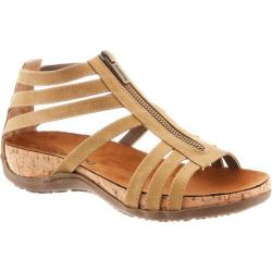 Women's Bearpaw Layla Caged Sandal Tan Synthetic