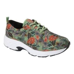 Women's Drew Excel Sneaker Green Multi Fabric