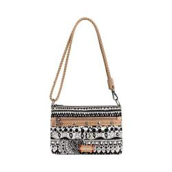 Women's Sakroots Artist Circle Campus Mini Black And White One World