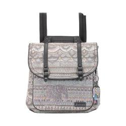 Women's Sakroots Artist Circle Convertible Backpack Pastel One World