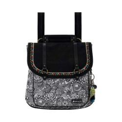 Women's Sakroots Artist Circle Convertible Backpack Black And White Spirit Desert